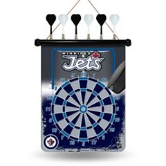 Winnipeg Jets Magnetic Dart Board