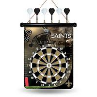 New Orleans Saints Magnetic Dart Board
