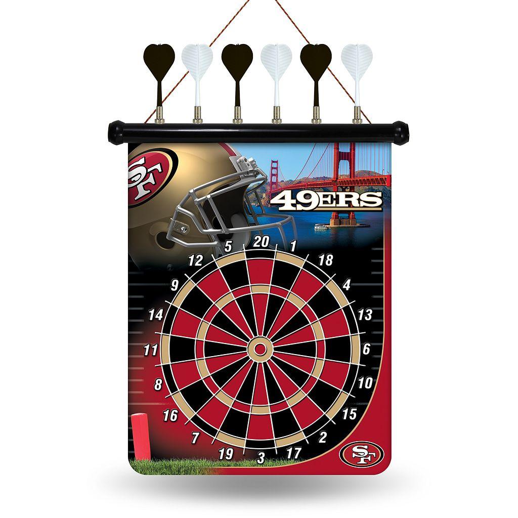 San Francisco 49ers Magnetic Dart Board
