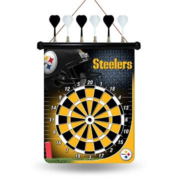 Pittsburgh Steelers Magnetic Dart Board