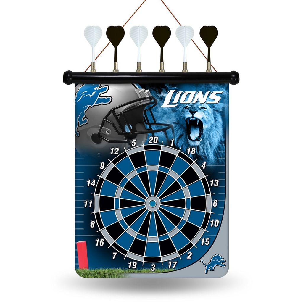 Detroit Lions Magnetic Dart Board
