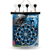 Detroit Lions Magnetic Dart Board