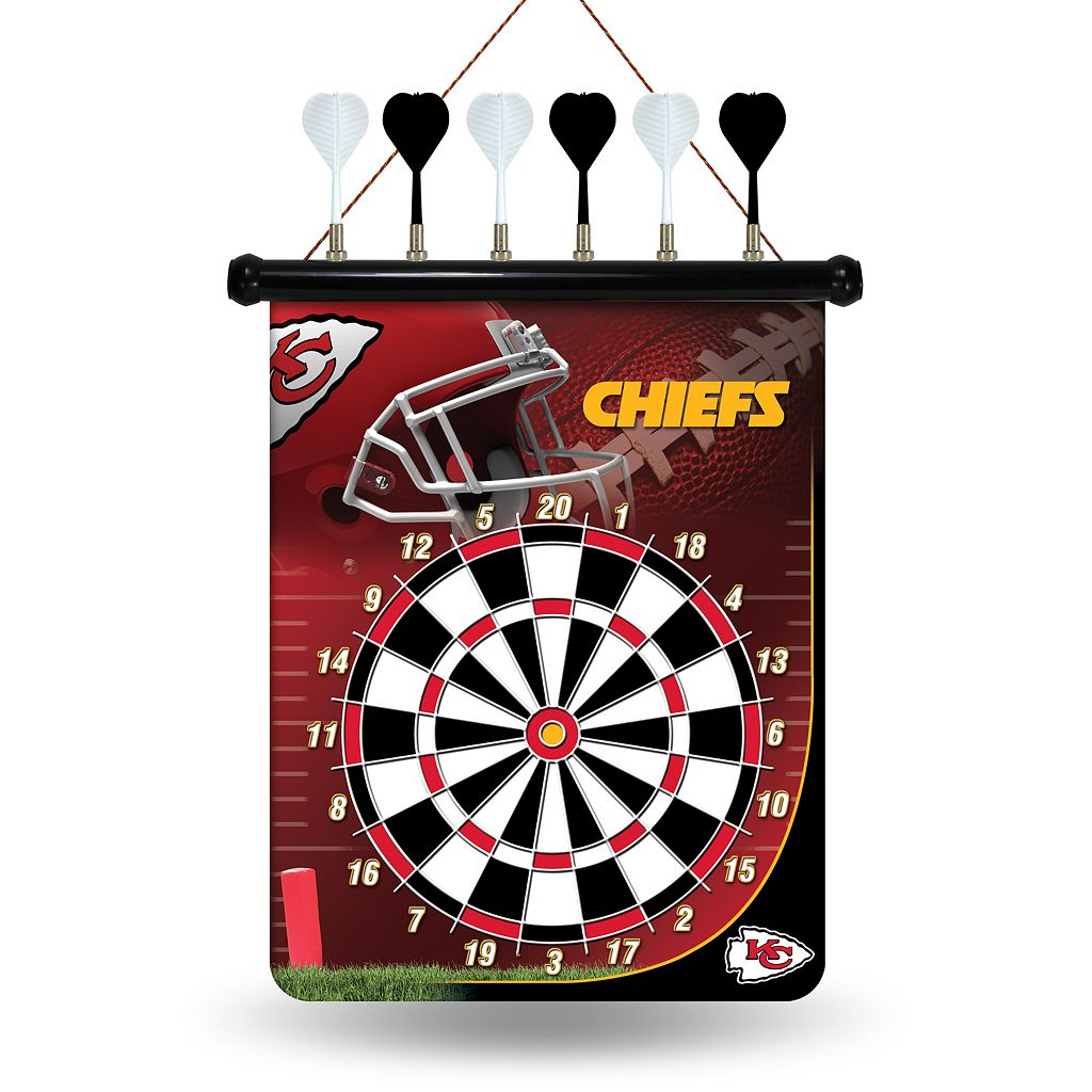 Kansas City Chiefs Magnetic Dart Board