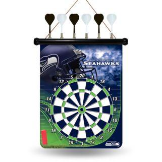 Seattle Seahawks Magnetic Dart Board