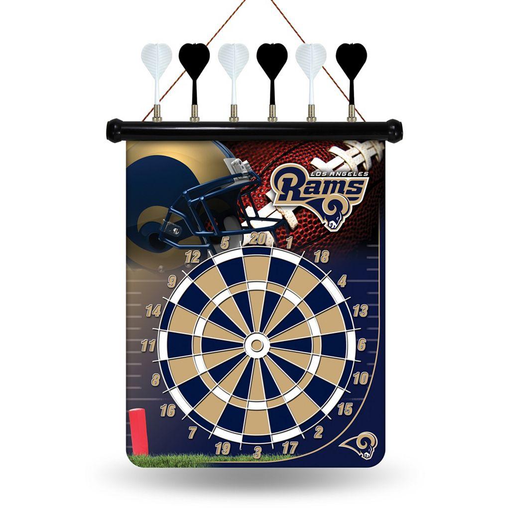 Los Angeles Rams Magnetic Dart Board