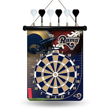 Los Angeles Rams Magnetic Dart Board