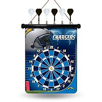 Los Angeles Chargers Magnetic Dart Board