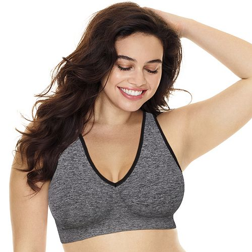 Plus Size Just My Size Bras: Just My Size 2-pack Pure Comfort Racerback Bra MJ128P
