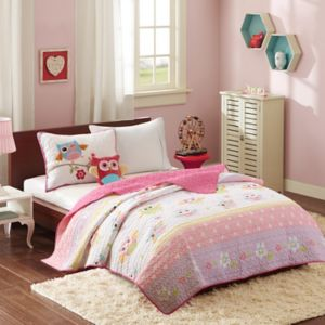 Mi Zone Kids Beaked Betty Coverlet Set