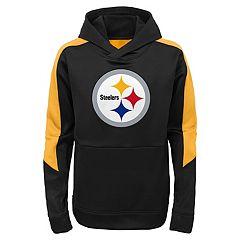 Boys 4-7 Pittsburgh Steelers Hyperlink Pullover Hoodie