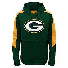 Boys 4-7 Green Bay Packers Hyperlink Pullover Hoodie