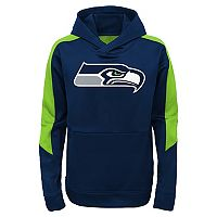 Boys 4-7 Seattle Seahawks Hyperlink Pullover Hoodie