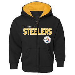 Boys 4-7 Pittsburgh Steelers Slated Hoodie