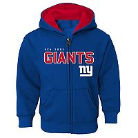 Boys 4-7 New York Giants Slated Hoodie
