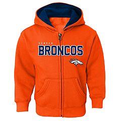 Boys 4-7 Denver Broncos Slated Hoodie