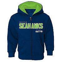 Boys 4-7 Seattle Seahawks Slated Hoodie