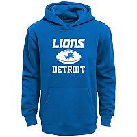 Boys 4-7 Detroit Lions Fleece Hoodie
