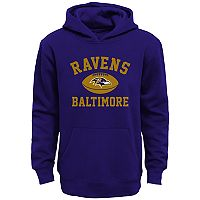 Boys 4-7 Baltimore Ravens Fleece Hoodie