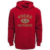 Boys 4-7 San Francisco 49ers Fleece Hoodie