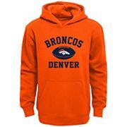 Boys 4-7 Denver Broncos Fleece Hoodie