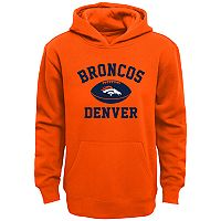 Boys 4-7 Denver Broncos Fleece Hoodie