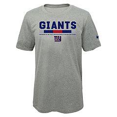 Boys 8-20 Nike New York Giants Legend Staff Dri-FIT Tee