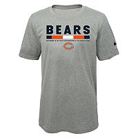 Boys 8-20 Nike Chicago Bears Legend Staff Dri-FIT Tee