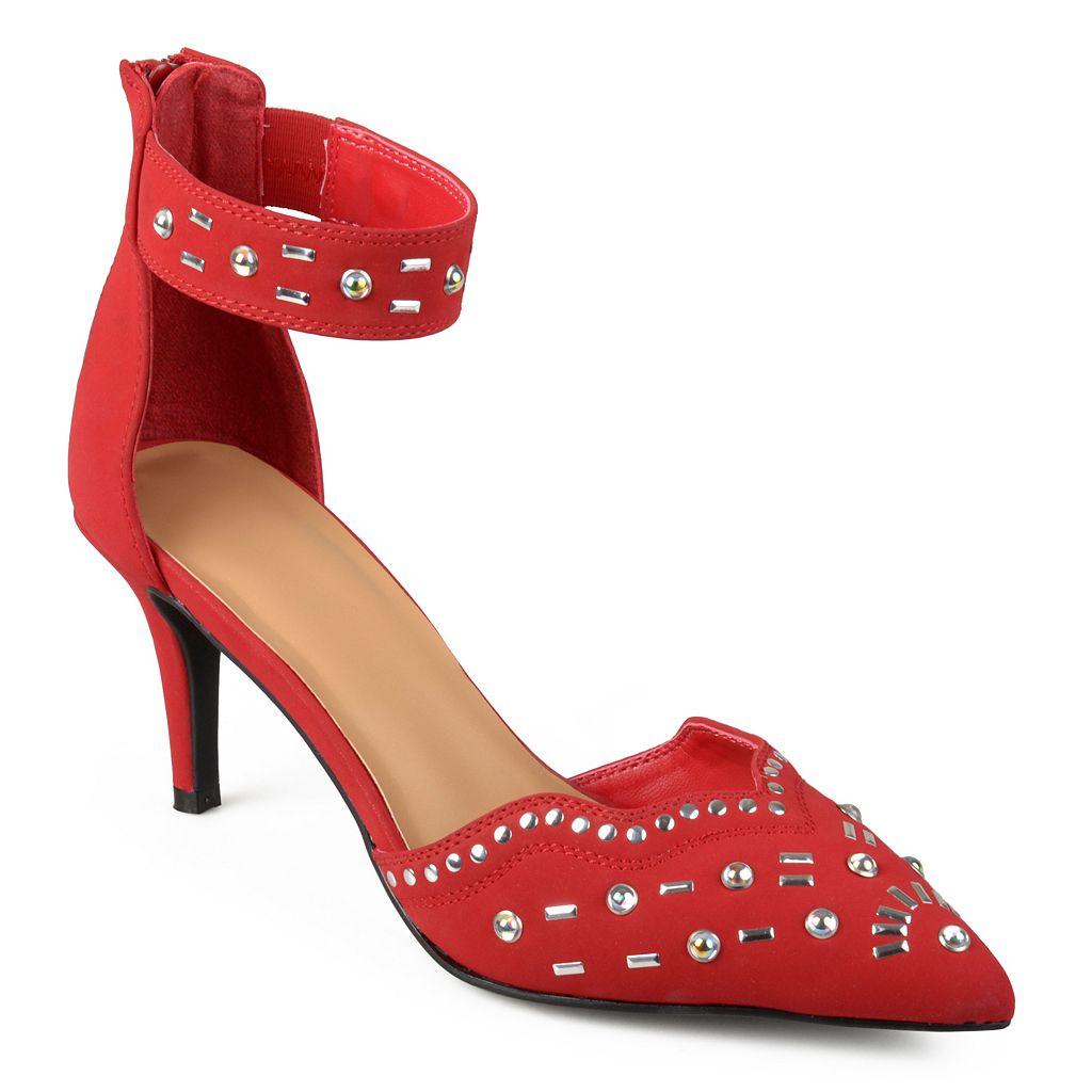 Journee Collection Gemini Women's High Heel Sandals