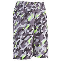 Boys 4-7 Under Armour Maze Runner Abstract Swim Trunks