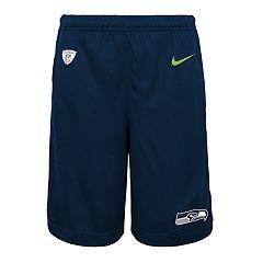 Boys 8-20 Nike Seattle Seahawks Knit Dri-FIT Shorts