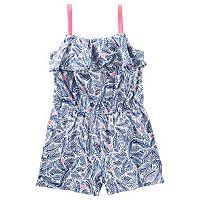 Toddler Girl OshKosh B'gosh® Print Ruffle Romper