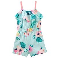 Toddler Girl OshKosh B'gosh® Print Ruffle Romper