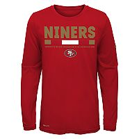 Boys 8-20 Nike San Francisco 49ers Legend Staff Dri-FIT Tee