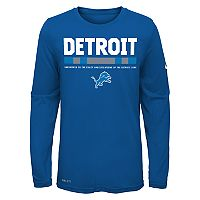 Boys 8-20 Nike Detroit Lions Legend Staff Dri-FIT Tee