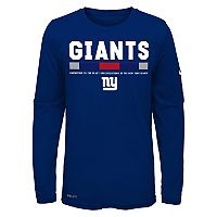 Boys 8-20 Nike New York Giants Legend Staff Dri-FIT Tee