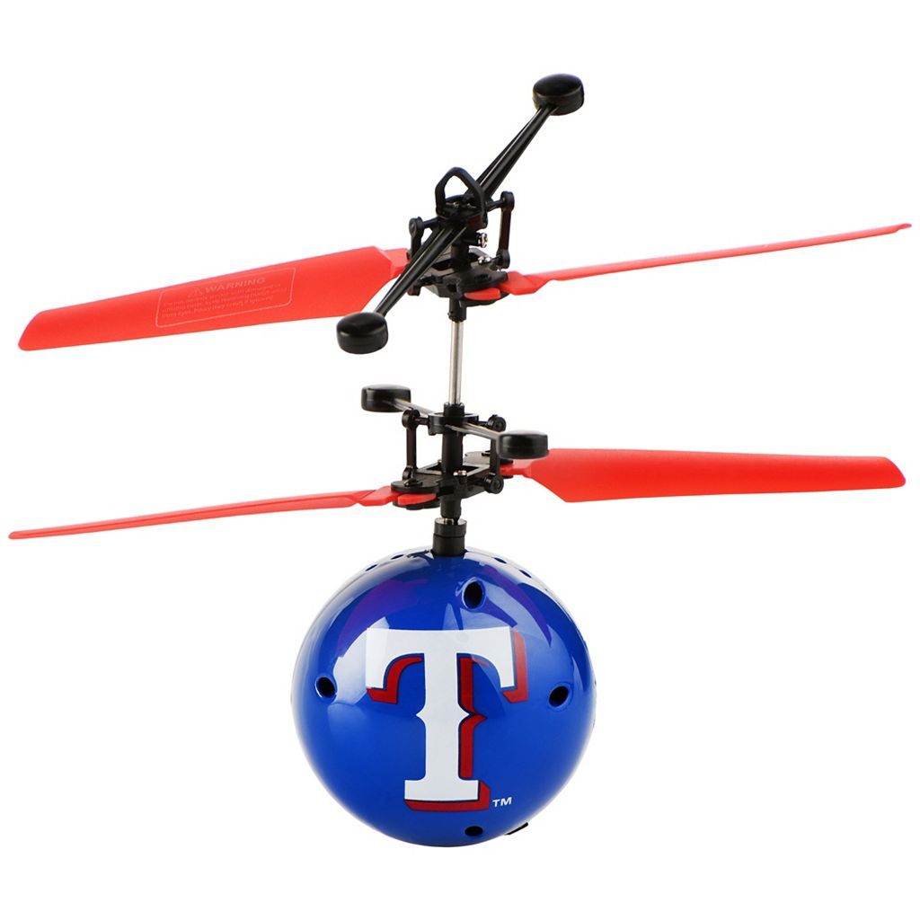 Forever Collectibles Texas Rangers Team Ball Flyer