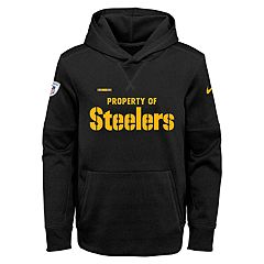 Boys 8-20 Nike Pittsburgh Steelers Therma Hoodie
