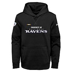 Boys 8-20 Nike Baltimore Ravens Therma Hoodie
