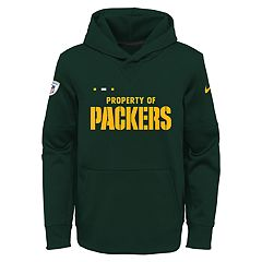 Boys 8-20 Nike Green Bay Packers Therma Hoodie