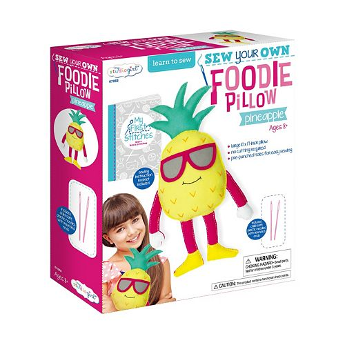 My Studio Girl Sew Your Own Foodie Pineapple Pillow
