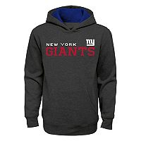 Boys 8-20 New York Giants Charcoal Performance Hoodie