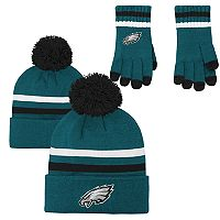 Boys 8-20 Philadelphia Eagles Beanie & Gloves Set
