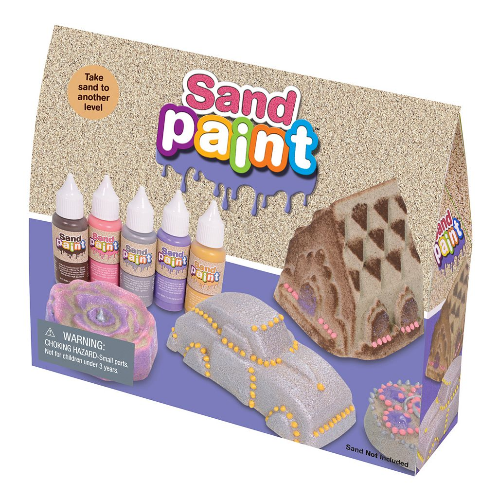 WABA Fun Sand Paint Decorator Set