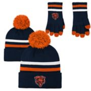 Boys 8-20 Chicago Bears Beanie & Gloves Set