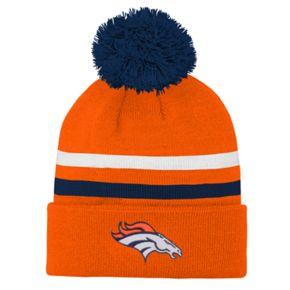 Boys 8-20 Denver Broncos Beanie & Gloves Set