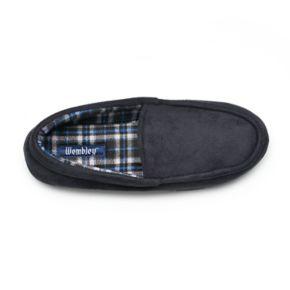 Men's Wembley Microsuede Venetian Moccasin Slippers