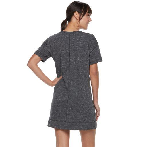 Women's Nike Sportswear Short Sleeve Sweatshirt Dress