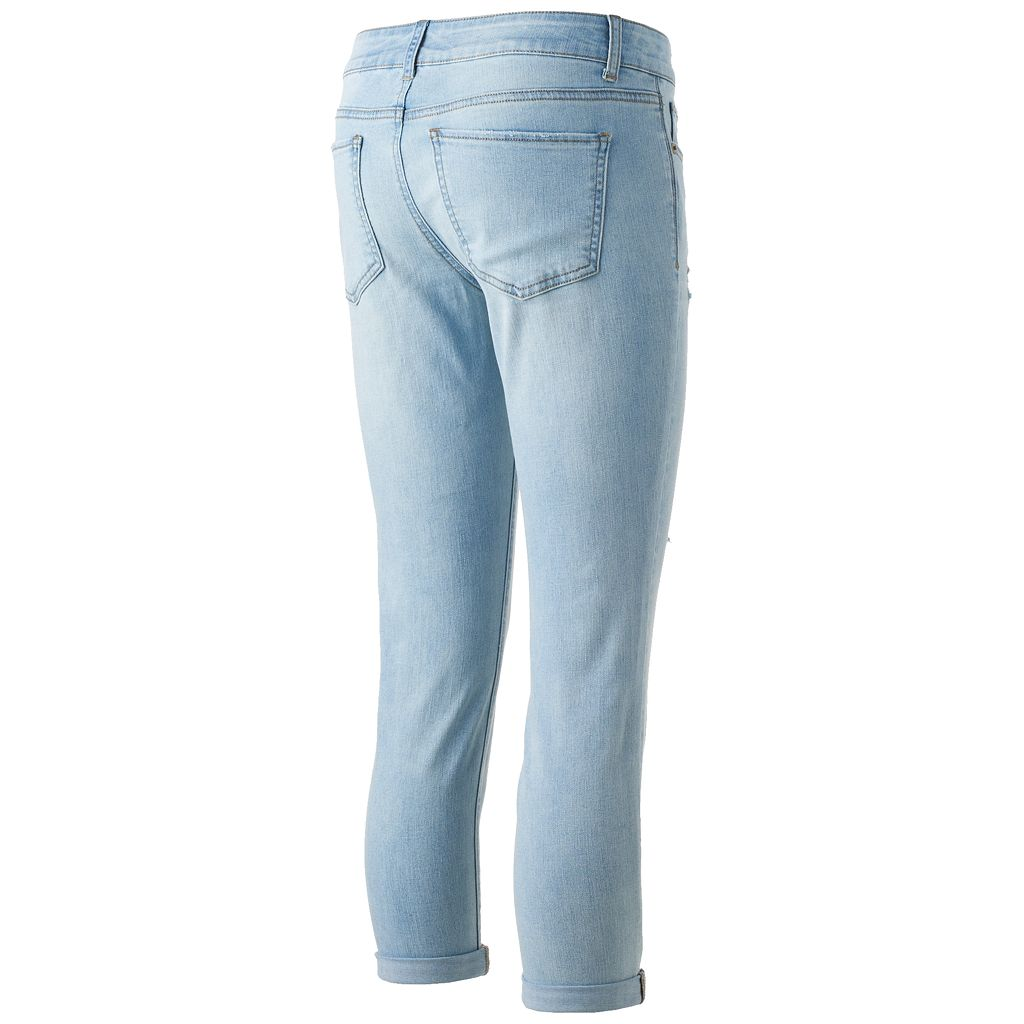 Juniors' SO® Low Rise Crop Jeggings