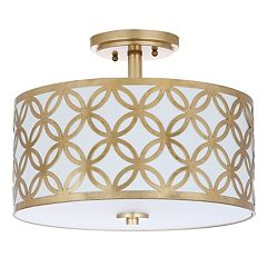 Safavieh Cecily Semi-Flush Mount Ceiling Lamp