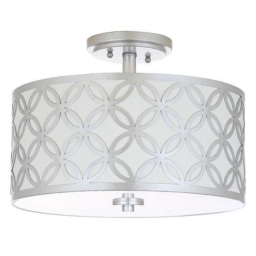 Safavieh Cecily Semi-Flush Mount Ceiling Lamp